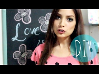 DIY :Como hacer Pizarron de Gis (bonito & FACIL) | yosoybonita