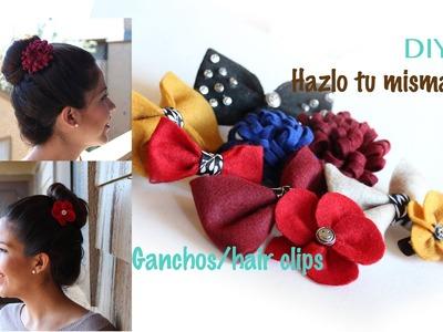 DIY Hazlo tu misma. Ganchos, broches. hebillas, hair clips