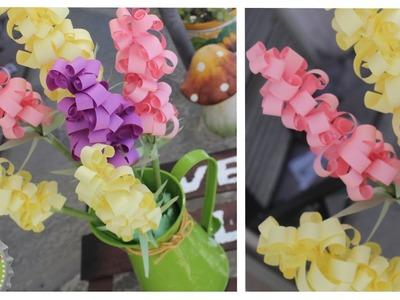Flores de Papel para Decorar tu Casa.Recamara + SORTEO
