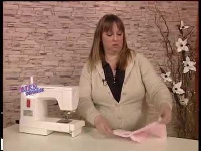 Silvia Nieruczkow - Bienvenidas TV - Realiza en costura un Portaenfant