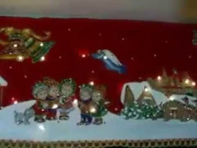 Cenefa navideñeda