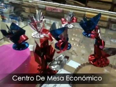 Centro De Mesa Económico Para Globos