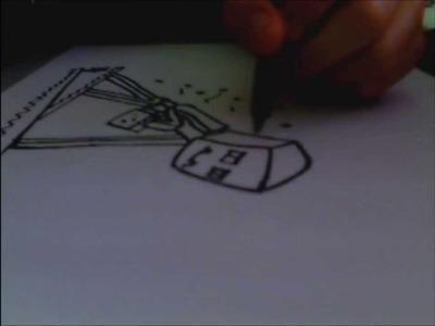 Como dibujar un EnderMan