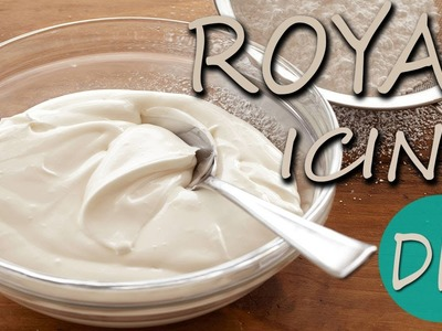 Como hacer ROYAL ICING ♥