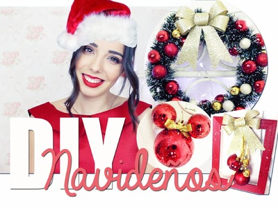 DIY ♡ Decoraciones de Navidad | A Little Too Often