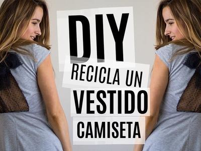 DIY Vestido-camiseta inspirado en Valentino