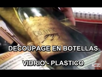 ENTELADO SOBRE BOTELLAS PET O VIDRIO 37