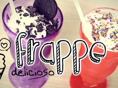 Frappe Oreo y Chocolate Blanco ♡ NYA RAWR
