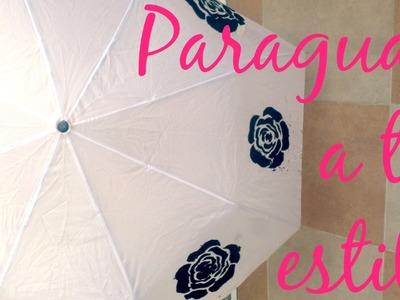 ¡Decora tu Paraguas! - Blooudland :)