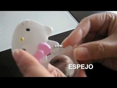 LLAVERO ESPEJO HELLO KITTY