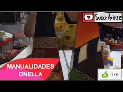 Manualidades: Florero de Trupan Parte1 - By:
