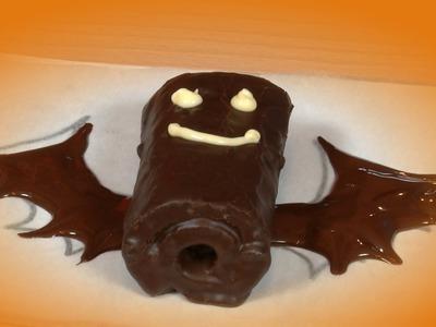 Murcielagos de Pastelitos de Chocolate