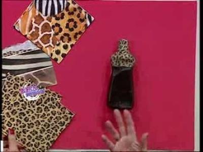 Silvina Buquete - Bienvenidas TV - Realiza en cartapesta un Porta Bijou