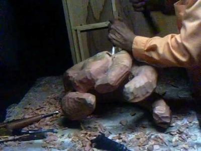 Tallando mano de madera parte 1