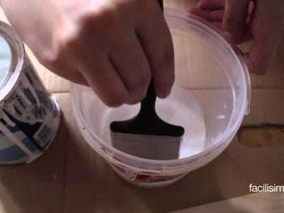 Truco para pintar madera sin tapar la veta | facilisimo.com