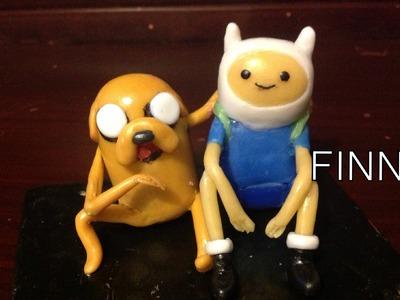 Tutorial Adventure time. Hora de aventura FINN (plastilina, porcelana fria, Clay) PARTE 1