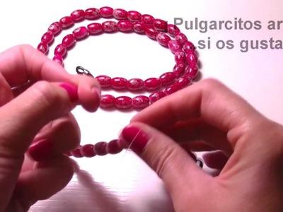 Abalorios Manualidades - Simple colgador para gafas
