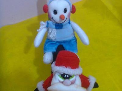 Adorno para botella 1.2. Christmas ornament. .proyecto 204
