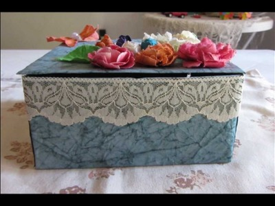 CAJA DECORADA - DECORATED BOX