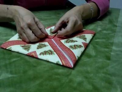 Forma original de doblar una servilleta