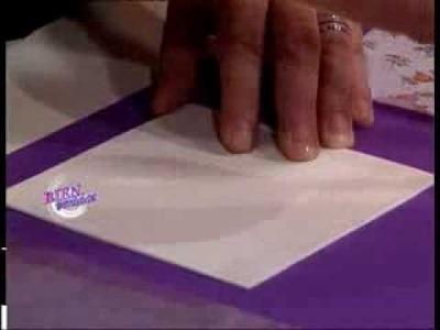 Jorge Rubicce - Bienvenidas TV - Realiza Decoupage en Goma Eva 3D.