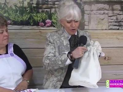 Mandiles hechos con manta DIY