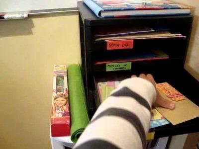 ORGANIZACIÓN: Como organizar los papeles de scrapbooking