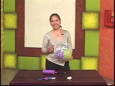 REINAS EN ACCION 23 - 07 - 12 (Glogo sobre globo - Isabel Mariano)