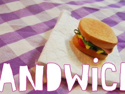 Sandwich (Tutorial.Arcilla Polimerica)
