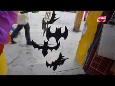 TERRORIFICO MOVIL DE MURCIELAGOS ESPECIAL HALLOWEEN