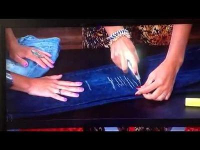 Tu Dia Alegre - Sandy Bodeau DIY: Como envejecer tus jeans