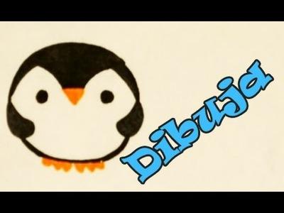 Aprende a Dibujar un Pinguino Kawaii Fácil Dibujin Dibujado ijaelachi