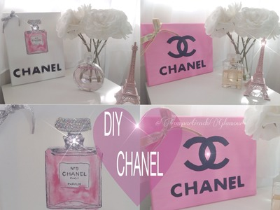 Chanel DIY Room Decor  , decoración inspirada en chanel