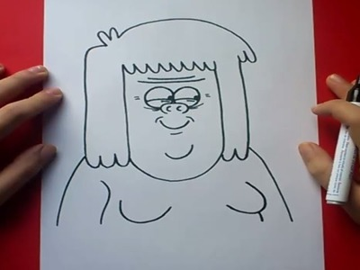 Como dibujar a Musculoso paso a paso - Un show mas | How to draw Muscle Man - Regular show