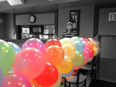 Curso de decoraciones con globos primera parte