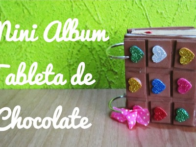 Mini Álbum tableta de chocolate (Manualidad 134)