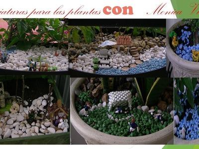 Miniaturas para plantas 2