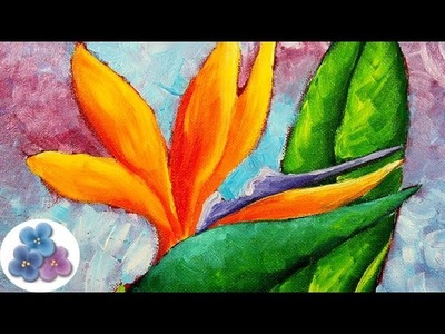 Pintura al Oleo Como Pintar Flores DIY *Flowers Oil Painting* Cuadros Modernos Oleos Pintura Facil