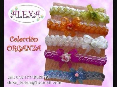 ALEXA accesorios para bebes, sandalias y diademas, tiaras o lazos