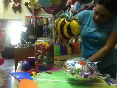 Armando un arreglo con globos paso a paso