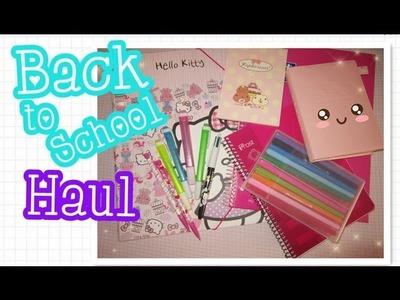 Back To School 2013: Haul ♥