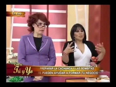Buffetsflorez: Cachanga en entre tu y yo con Lorena