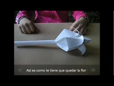 Como crear una flor de papel (2012)