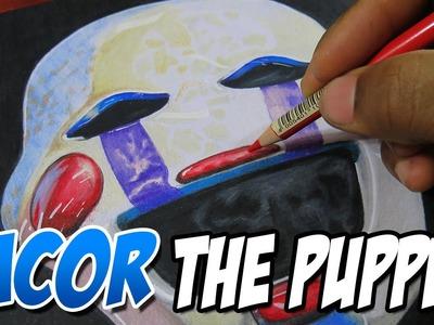 """Dibujando a """"The Puppet"""" o La Marioneta de FNAF2"""