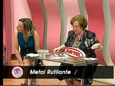 Guia Tutorial Manualidades Metal Rutilante Artel