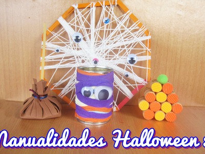 Manualidades Halloween 2 (Manualidad 150)