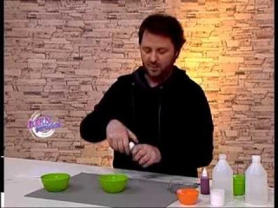 Martín Muñoz - Bienvenidas TV - Nos enseña a hacer alcohol en gel.