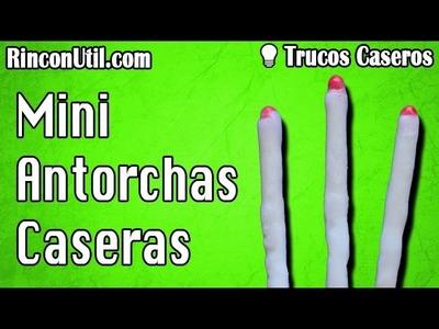 Mini Antorchas Caseras | Cerillas de supervivencia | Trucos caseros