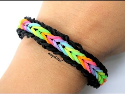 PULSERA de GOMITAS Single cross fishtail (con tenedores) | BRACELET