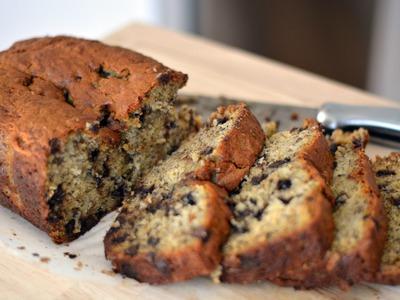 Receta Para Pan de Banano Con Chocolate - Cómo Hacer Torta de Banano - Sweet y Salado